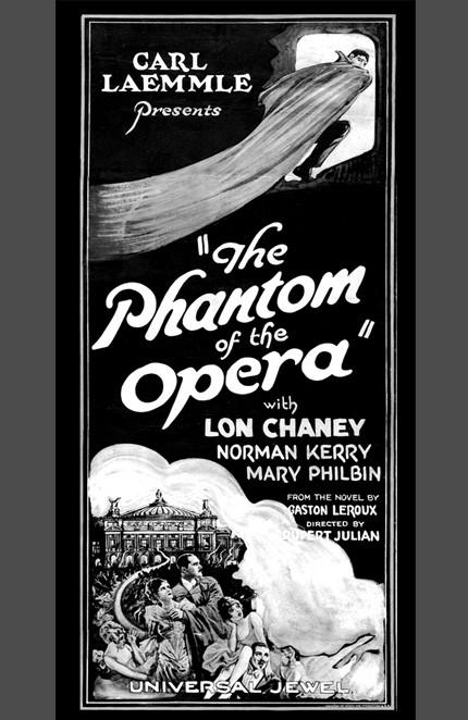 Cartell Fantasma de la ópera 430x662